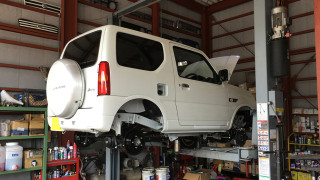 ジムニー新車コンプ製作開始です~!その他、ご成約情報です!!
